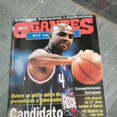 Coleccionismo deportivo: REVISTA DE BALOCESTO BASKET N° 576 ACB TANOKA BEARD BARSA MADRID NBA BARKLEY ZAIRE. Lote 264555989