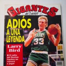 Collezionismo sportivo: REVISTA GIGANTES DEL BASKET N° 356 (1992). LARRY BIRD EN PORTADA. POSTER ARVIDAS SABONIS. Lote 265446739