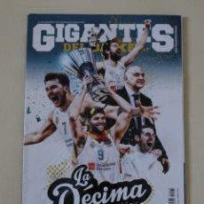 Coleccionismo deportivo: REVISTA GIGANTES DEL BASKET Nº 1473. LA DÉCIMA DEL REAL MADRID. BALONCESTO (2018). Lote 254400955