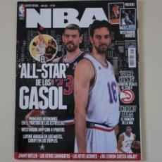 Coleccionismo deportivo: REVISTA OFICIAL NBA Nº 266 ALL STAR HERMANOS GASOL. BALONCESTO (2015).. Lote 230241115