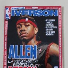 Coleccionismo deportivo: REVISTA OFICIAL NBA. EDICIÓN ESPECIAL COLECCIONISTAS Nº 5 ALLEN IVERSON (2015) BALONCESTO.. Lote 171481112