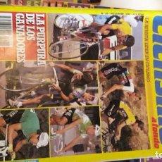 Coleccionismo deportivo: GRAN LOTE DE 30 REVISTAS DE CICLISMO A FONDO DE LOS AÑOS 80 / GASTOS DE ENVIO INCLUIDOS. Lote 265975193