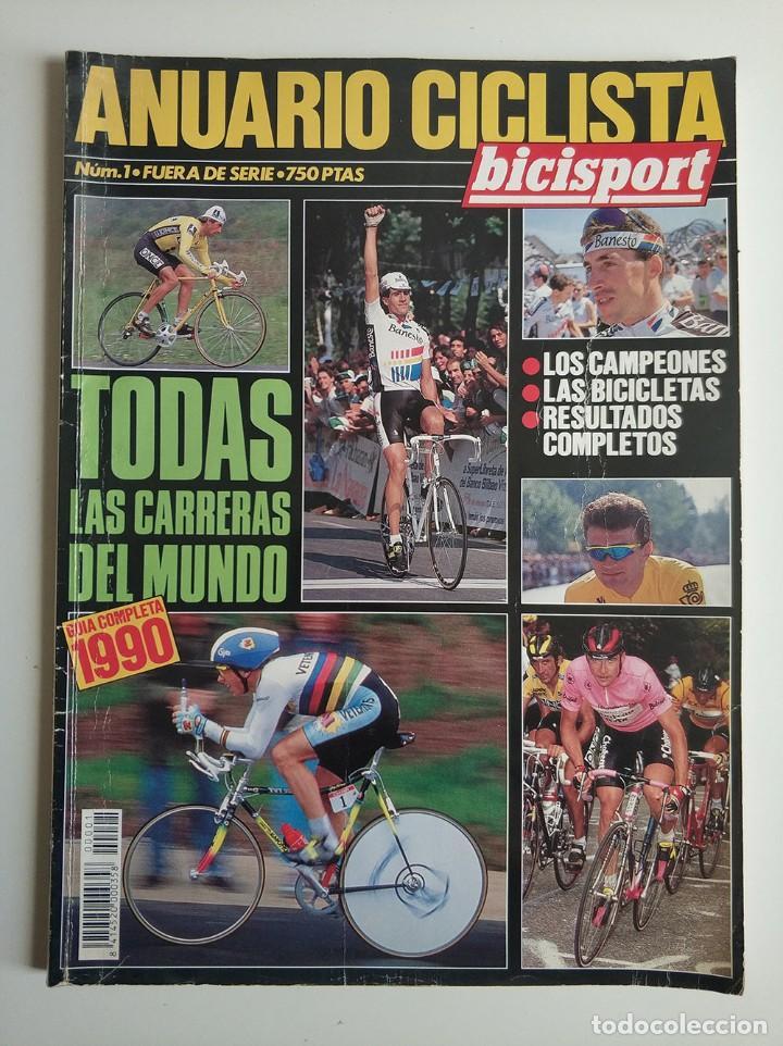 ANUARIO CICLISTA GUÍA COMPLETA 1990 - EXTRA BICISPORT NÚMERO 1 - CICLISMO INDURAIN - MUY COMPLETO (Coleccionismo Deportivo - Revistas y Periódicos - otros Deportes)