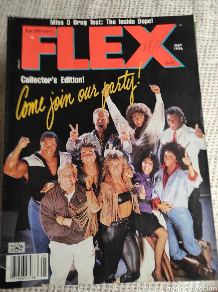 REVISTAS DE CULTURISMO - FLEX MAY 1986 - EDICION USA (Coleccionismo Deportivo - Revistas y Periódicos - otros Deportes)