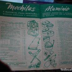 Colecionismo desportivo: BAVILLESSET -TEMPORADA 1948- 49 - CATALOGO DE MATERIAL DE DEPORTE. Lote 267076609