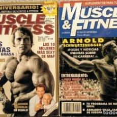 Coleccionismo deportivo: REVISTAS ''MUSCLE & FITNESS'' - ARNOLD SCHWARZENEGGER. Lote 268787564