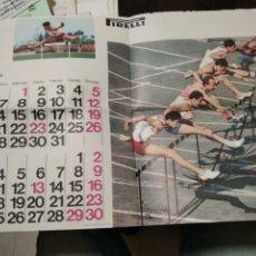 Coleccionismo deportivo: HOJA CALENDARIO PIRELLI. Lote 268947154