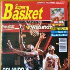 Coleccionismo deportivo: SUPER BASKET Nº 154 DE 1992- SHAQUILLE O'NEAL- SUPERSONICS- CELTICS- PACERS- CARLOS SAINZ RALLIES... Lote 269252873