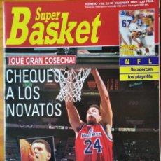Coleccionismo deportivo: SUPER BASKET Nº 156 DE 1992- PETROVIC- UTAH JAZZ- J.R REID- SUNS CHARLES BARKLEY- NHL.... Lote 269253933