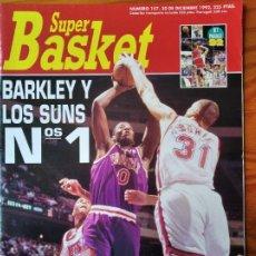 Coleccionismo deportivo: SUPER BASKET Nº 157 DE 1992- SUNS CHARLES BARKLEY- SUPERSONICS- MAVERICKS- BULLETS- JORDAN- NHL.... Lote 269254448