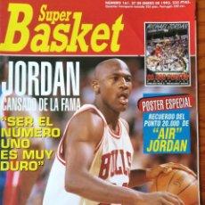 Coleccionismo deportivo: SUPER BASKET Nº 161 DE 1993- MICHAEL JORDAN ESPECIAL NBA- DANNY MANNING - SUPERBOWL NHL.... Lote 269255773