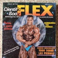 Coleccionismo deportivo: CIENTIFIC BODY-FLEX- FISICULTURISMO-MUSCULACIÓN APLICADA. Lote 269278368