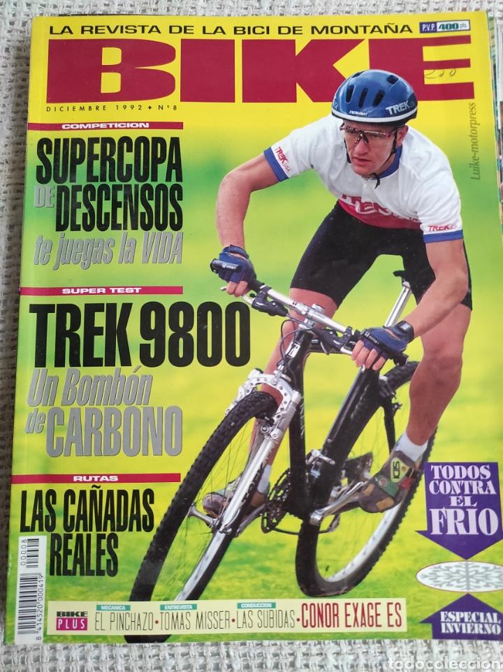 BIKE Nº 8 DICIEMBRE 1992 LA REVISTA DE LA BICI DE MONTAÑA (Coleccionismo Deportivo - Revistas y Periódicos - otros Deportes)