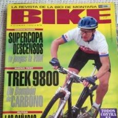 Collezionismo sportivo: BIKE Nº 8 DICIEMBRE 1992 LA REVISTA DE LA BICI DE MONTAÑA. Lote 269391863