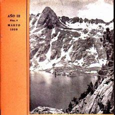 Coleccionismo deportivo: BOLETIN Nº 9 DE LA SECCION DE MONTAÑA Y C.A.D.E. MARZO 1950. Lote 269415078