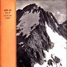 Coleccionismo deportivo: BOLETIN Nº 10 DE LA SECCION DE MONTAÑA Y C.A.D.E. JUNIO 1950. Lote 269415153