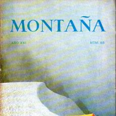 Coleccionismo deportivo: BOLETIN Nº 113 DE LA SECCION DE MONTAÑA Y C.A.D.E. ENERO-FEBRERO 1968. Lote 269419278