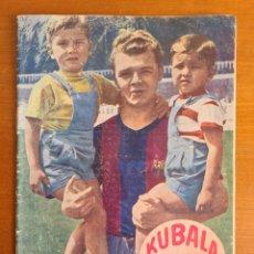 Coleccionismo deportivo: KUBALA EN 'LOS ASES BUSCAN LA PAZ' - FOTO RAMÓN DIMAS - FC BARCELONA FÚTBOL BARÇA CULÉ AÑO 1955. Lote 269558748