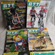 Coleccionismo deportivo: MOUNTAIN BIKE BTT - LOTE DE 6 EJEMPLARES - CICLISMO - CONTIENEN EL SUPLEMENTO DE RUTAS. Lote 269842278