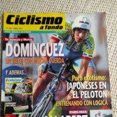 Coleccionismo deportivo: CICLISMO A FONDO Nº 149 AÑO 1997. JUAN CARLOS DOMÍNGUEZ, LAURENT JALABERT. Lote 269843933