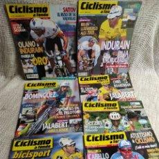 Coleccionismo deportivo: CICLISMO A FONDO - LOTE DE 7 EJEMPLARES. Lote 269844308