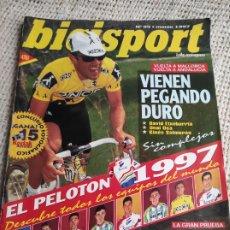 Coleccionismo deportivo: BICISPORT Nº 95 MARZO 1997 - EL PELOTON 1997 - CICLISMO. Lote 269844843