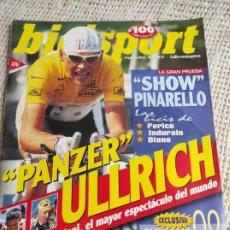 Coleccionismo deportivo: BICISPORT EXTRA Nº 100 AGOSTO 1997 - ULLRICH, PANTANI, VIRENQUE - CICLISMO. Lote 269845108