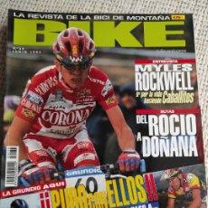 Coleccionismo deportivo: BIKE Nº 36 JUNIO 1995 LA REVISTA DE LA BICI DE MONTAÑA. Lote 269845973