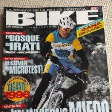 Coleccionismo deportivo: BIKE Nº 45 ENERO 1996 LA REVISTA DE LA BICI DE MONTAÑA. Lote 269846033