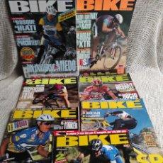 Coleccionismo deportivo: BIKE - LOTE DE 15 EJEMPLARES LA REVISTA DE LA BICI DE MONTAÑA. Lote 269847548