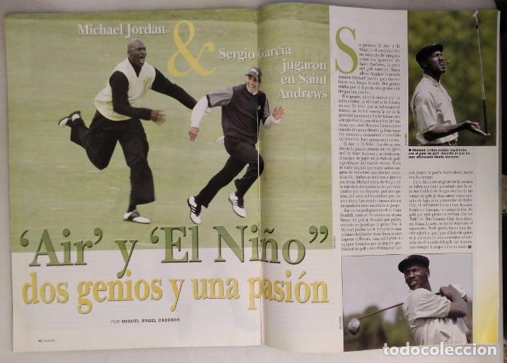 Coleccionismo deportivo: Michael Jordan & Washington Wizards - 14 revistas Gigantes del Basket (2001-2003) - NBA - Foto 12 - 145216850