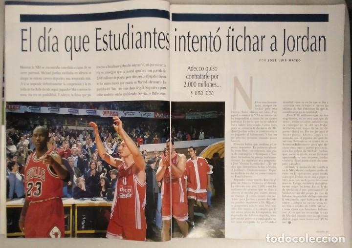 Coleccionismo deportivo: Michael Jordan & Washington Wizards - 14 revistas Gigantes del Basket (2001-2003) - NBA - Foto 13 - 145216850