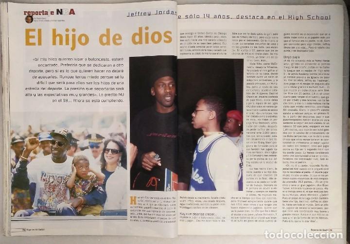 Coleccionismo deportivo: Michael Jordan & Washington Wizards - 14 revistas Gigantes del Basket (2001-2003) - NBA - Foto 14 - 145216850