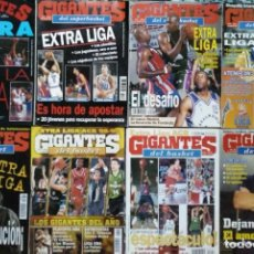 Coleccionismo deportivo: 12 REVISTAS ''GIGANTES DEL BASKET'' - EXTRAS LIGA ACB Y NBA. Lote 269986448