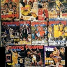 Coleccionismo deportivo: KOBE BRYANT - COLECCIÓN DE 27 REVISTAS ''GIGANTES DEL BASKET'' Y ''REVISTA NBA'' (1997-2008). Lote 269986453