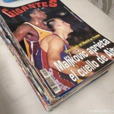Coleccionismo deportivo: COLECCIÓN DE 58 REVISTAS ''GIGANTES DEL BASKET'' (1994-97) - NBA. Lote 269986458