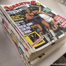 Coleccionismo deportivo: COLECCIÓN DE 90 DE LAS 100 PRIMERAS REVISTAS ''GIGANTES DEL BASKET'' (1985-87). Lote 269986468