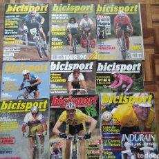 Collectionnisme sportif: BICISPORT - LOTE DE 9 EJEMPLARES - CICLISMO AÑOS 90 - LOTE RESERVADO. Lote 270242148