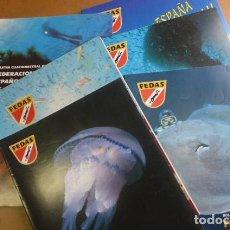 Coleccionismo deportivo: LOTE DE 6 REVISTAS DE LA FEDAS,,,AÑOS 90...ACTIVIDADES SUBACUATICAS... Lote 270917933