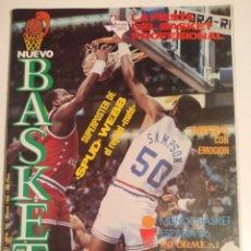 Coleccionismo deportivo: NUEVO BASKET N° 142 (1986). ESPECIAL ALL STAR DALLAS '86. Lote 271388178