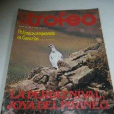 Coleccionismo deportivo: REVISTA DEPORTIVA. TROFEO. Nº 116. ENERO 1980. POLÉMICO CAMPEONATO EN CANARIAS.. Lote 271553088