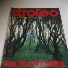 Coleccionismo deportivo: REVISTA DEPORTIVA. TROFEO. Nº 129. FEBRERO 1981. FAUNA Y FLORA EN CANARIAS. Lote 271553188
