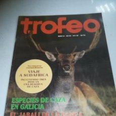 Coleccionismo deportivo: REVISTA DEPORTIVA. TROFEO. Nº 204. MAYO 1987. CAZA EN GALICIA, JABALÍ DE LA PAMPA. VER ÍNDICE. Lote 271557298