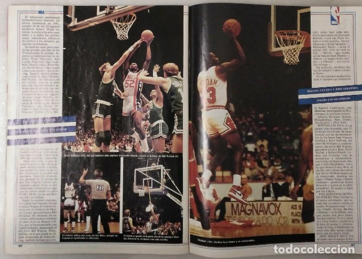 Coleccionismo deportivo: Colección de 124 de las 150 primeras revistas Gigantes del Basket (1985-88) + Especial Jordan - Foto 4 - 162988738