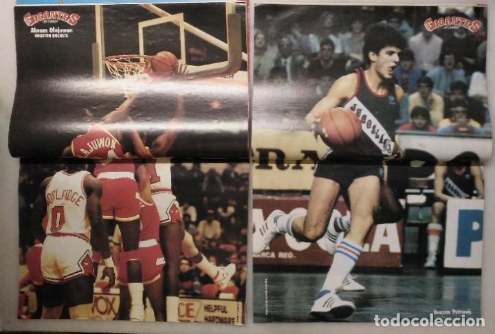 Coleccionismo deportivo: Colección de 124 de las 150 primeras revistas Gigantes del Basket (1985-88) + Especial Jordan - Foto 5 - 162988738