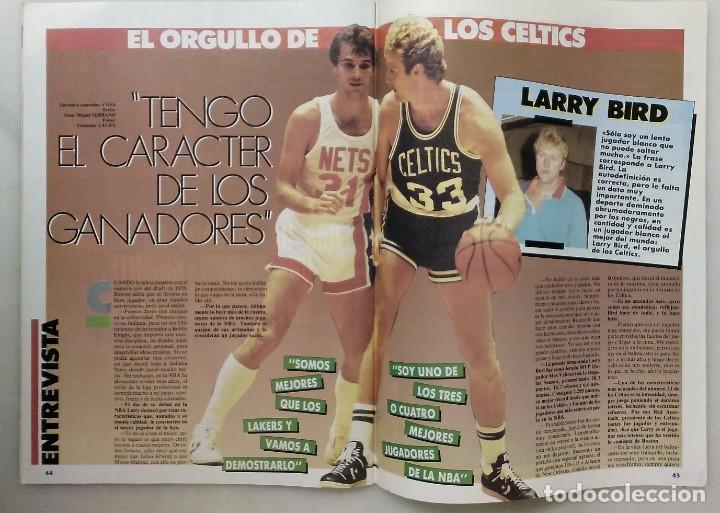 Coleccionismo deportivo: Colección de 124 de las 150 primeras revistas Gigantes del Basket (1985-88) + Especial Jordan - Foto 6 - 162988738