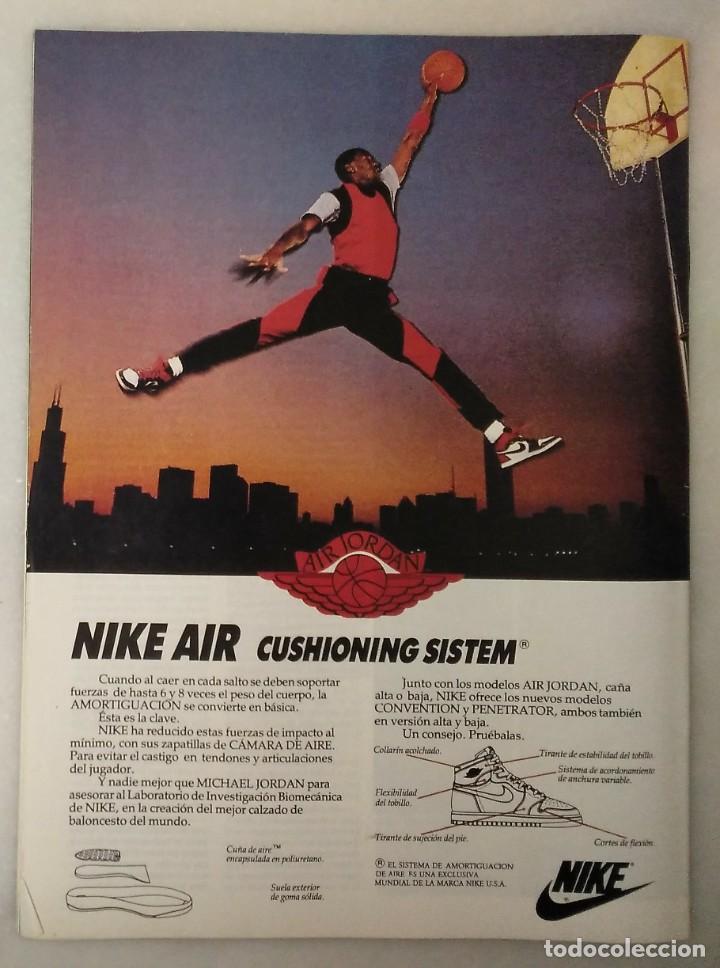 Coleccionismo deportivo: Colección de 124 de las 150 primeras revistas Gigantes del Basket (1985-88) + Especial Jordan - Foto 7 - 162988738
