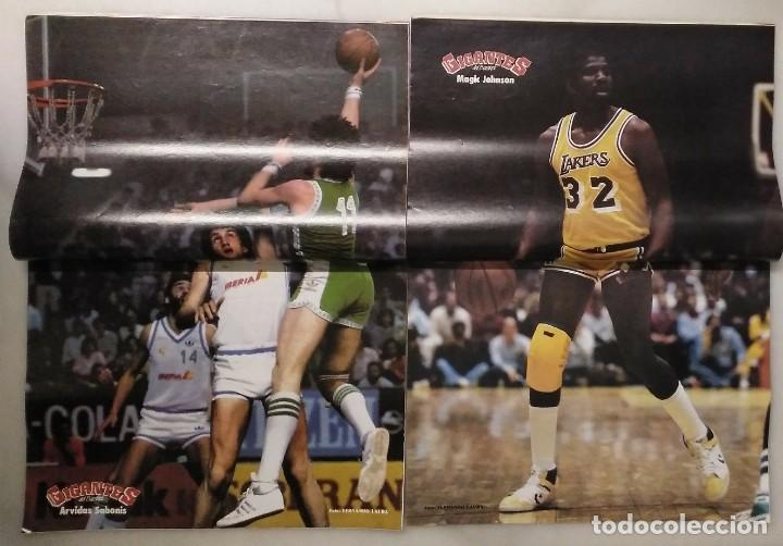 Coleccionismo deportivo: Colección de 124 de las 150 primeras revistas Gigantes del Basket (1985-88) + Especial Jordan - Foto 8 - 162988738