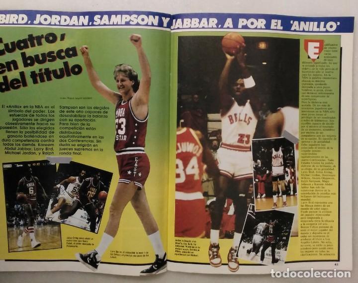Coleccionismo deportivo: Colección de 124 de las 150 primeras revistas Gigantes del Basket (1985-88) + Especial Jordan - Foto 9 - 162988738