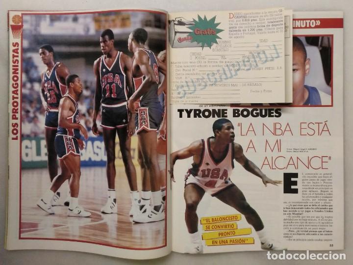 Coleccionismo deportivo: Colección de 124 de las 150 primeras revistas Gigantes del Basket (1985-88) + Especial Jordan - Foto 10 - 162988738